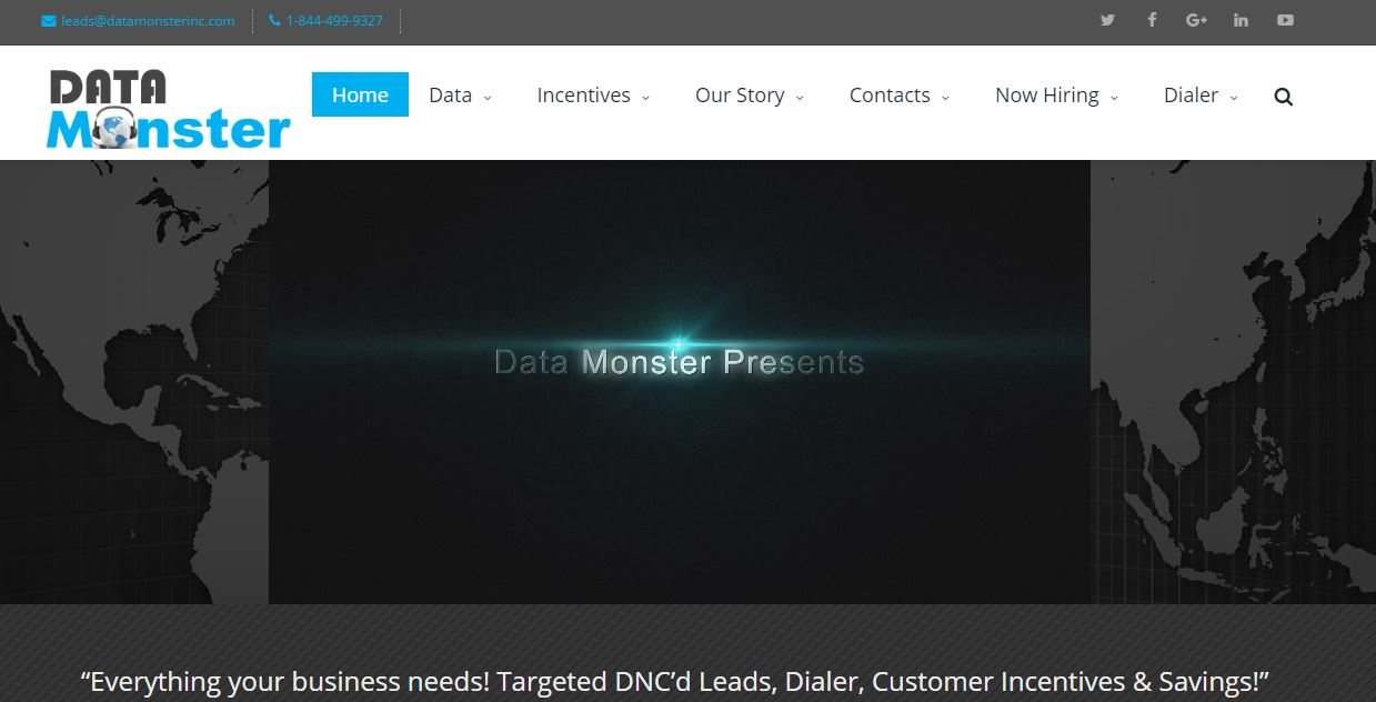 DATA MONSTER WEBSITE PHOTO