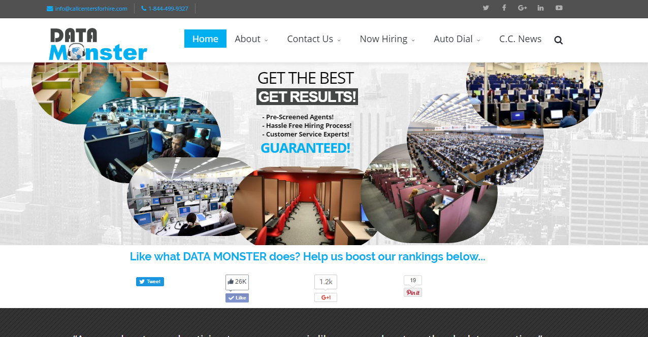 Data Monster Affiliate