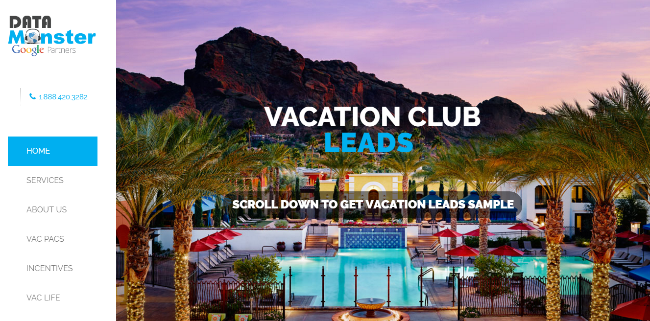 vacation club leads